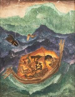 'Noah's Ark', Argentina Outsider artist, Buenos Aires Modern Art Museum