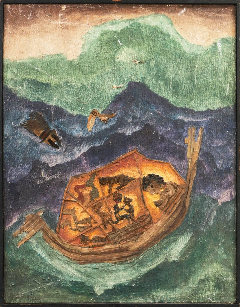 Noah's Ark - Painting by Liber Fridman