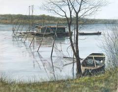 Fishing Nets Along the Loire