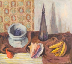 Still Life with a Conch Shell and Fruit