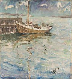 Harbor at Dawn
