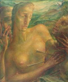 'The Martyrdom of Saint Sebastian with Saint Irene of Rome', German Modernist