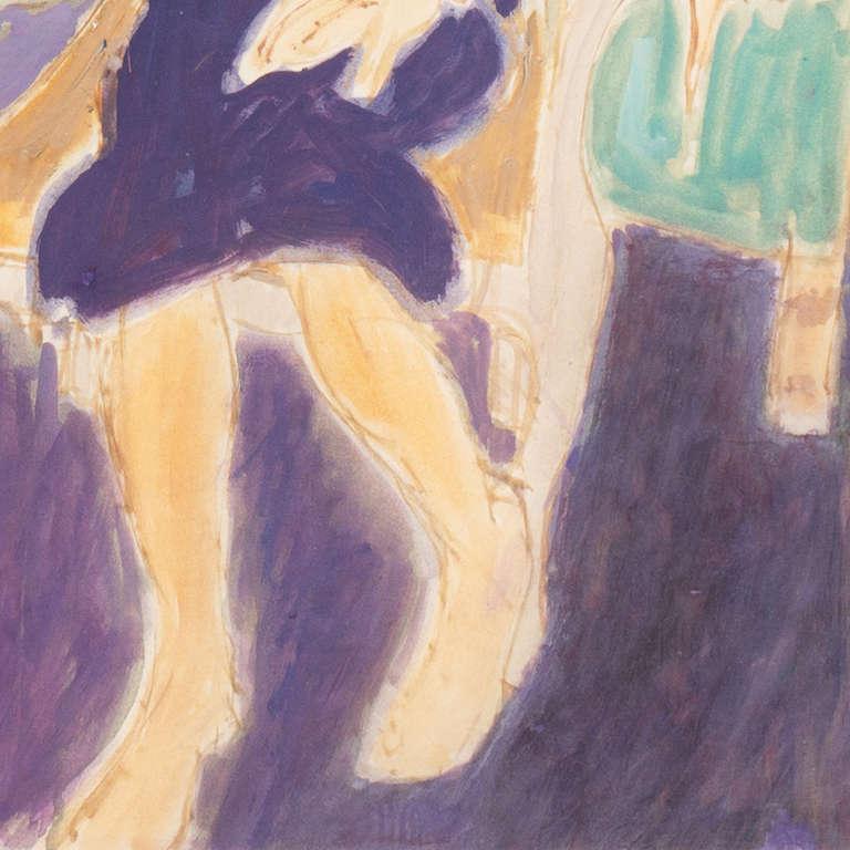 California Post-Impressionist 'Woman Seated', Louvre, LACMA, Académie Chaumière For Sale 2