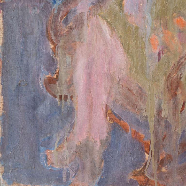 California Post-Impressionist 'Woman Seated' Louvre, LACMA, Académie Chaumière For Sale 1