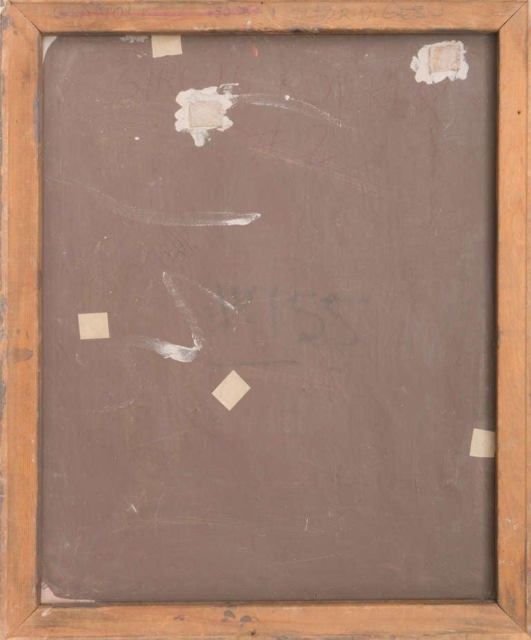 California Post-Impressionist 'Woman Seated' Louvre, LACMA, Académie Chaumière For Sale 2
