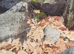 'A Timeless Moment', Naturalist Watercolor