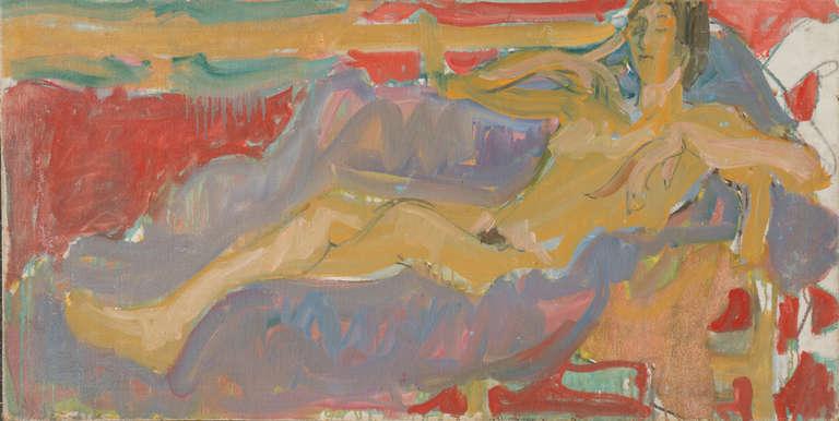 California Post-Impressionist 'Reclining Nude' Louvre, LACMA, Académie Chaumière