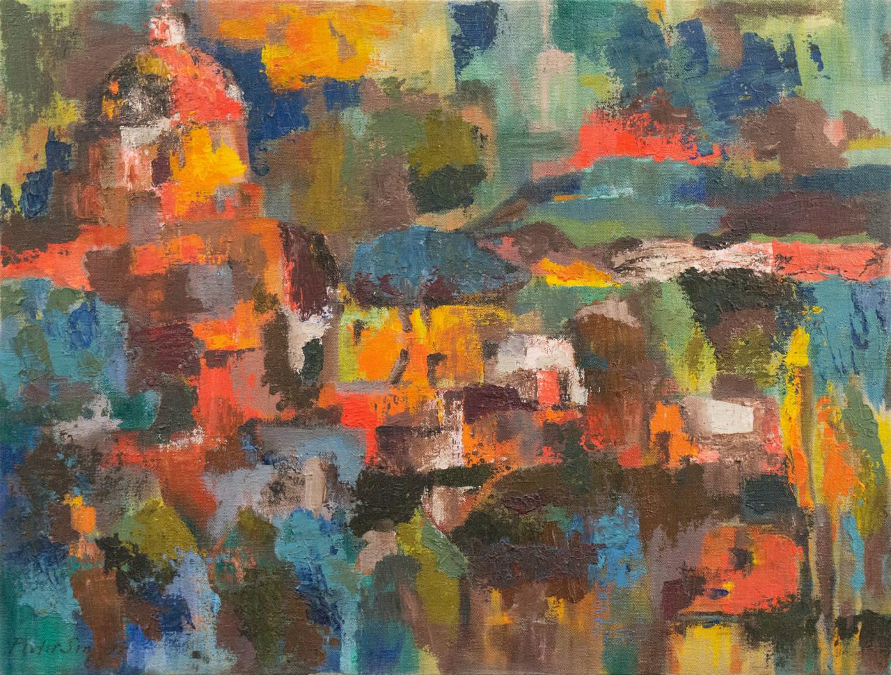 'Iglesia San Antonio', Bay Area Abstraction, Mendocino Art Center, San Diego