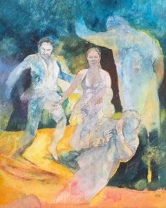 'Figural', Carmel, California Post-Impressionist, Ruskin School of Art, Madrid