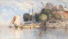 Samuel Colman - View of Bruges