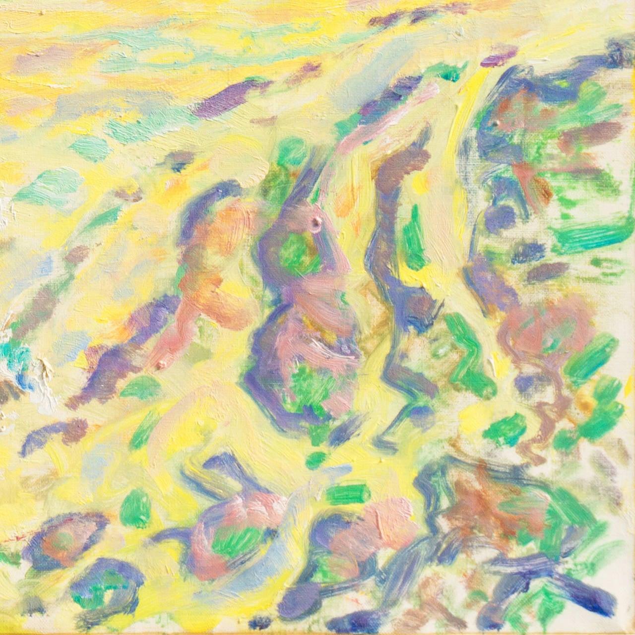 Spring Landscape - Painting by Ejnar R. Kragh