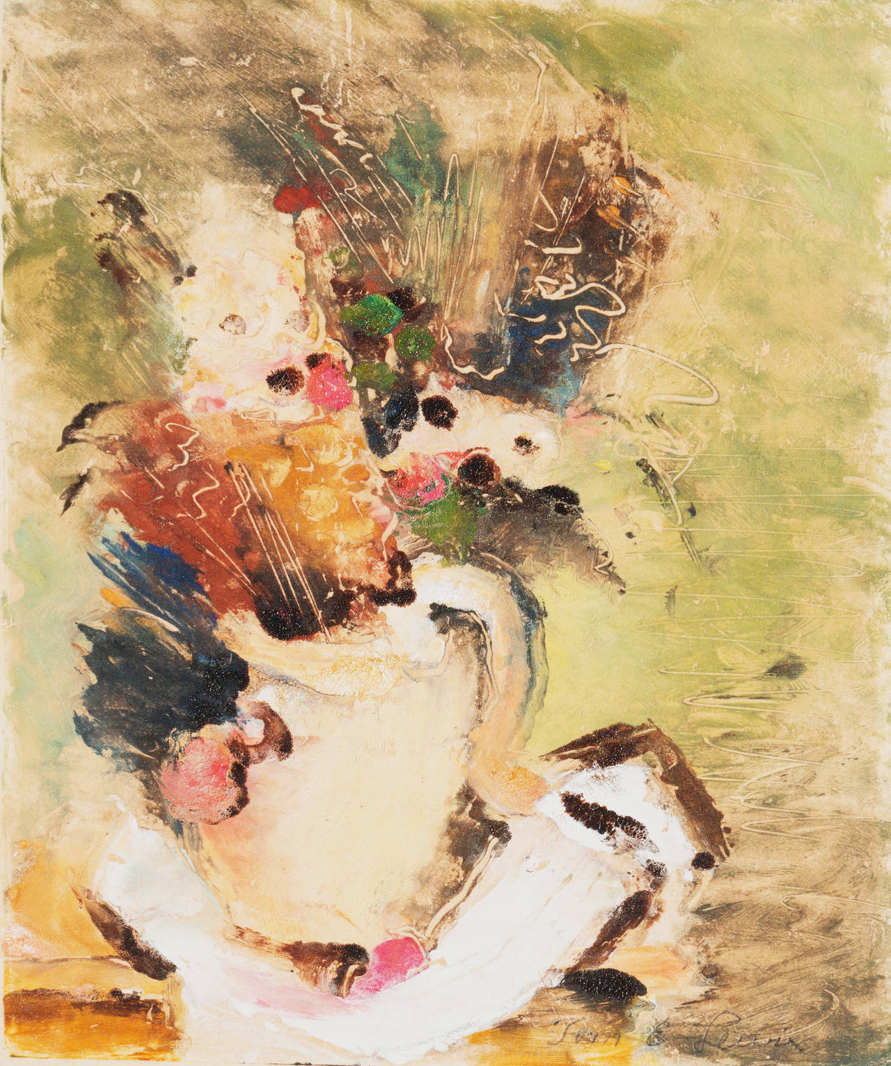 'Still Life of Flowers', San Francisco Bay Area Modernist, NY MOMA, LACMA, AIC