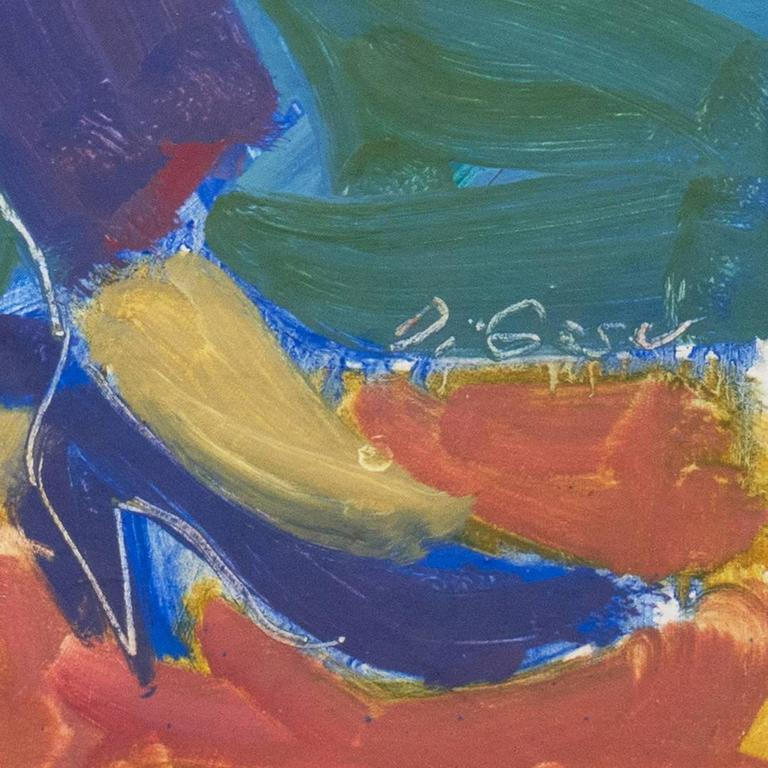 California Post-Impressionist 'Woman Seated', Louvre, LACMA, Académie Chaumière For Sale 1