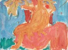 'Seated Nude', California Post-Impressionist, Louvre, LACMA, Académie Chaumière