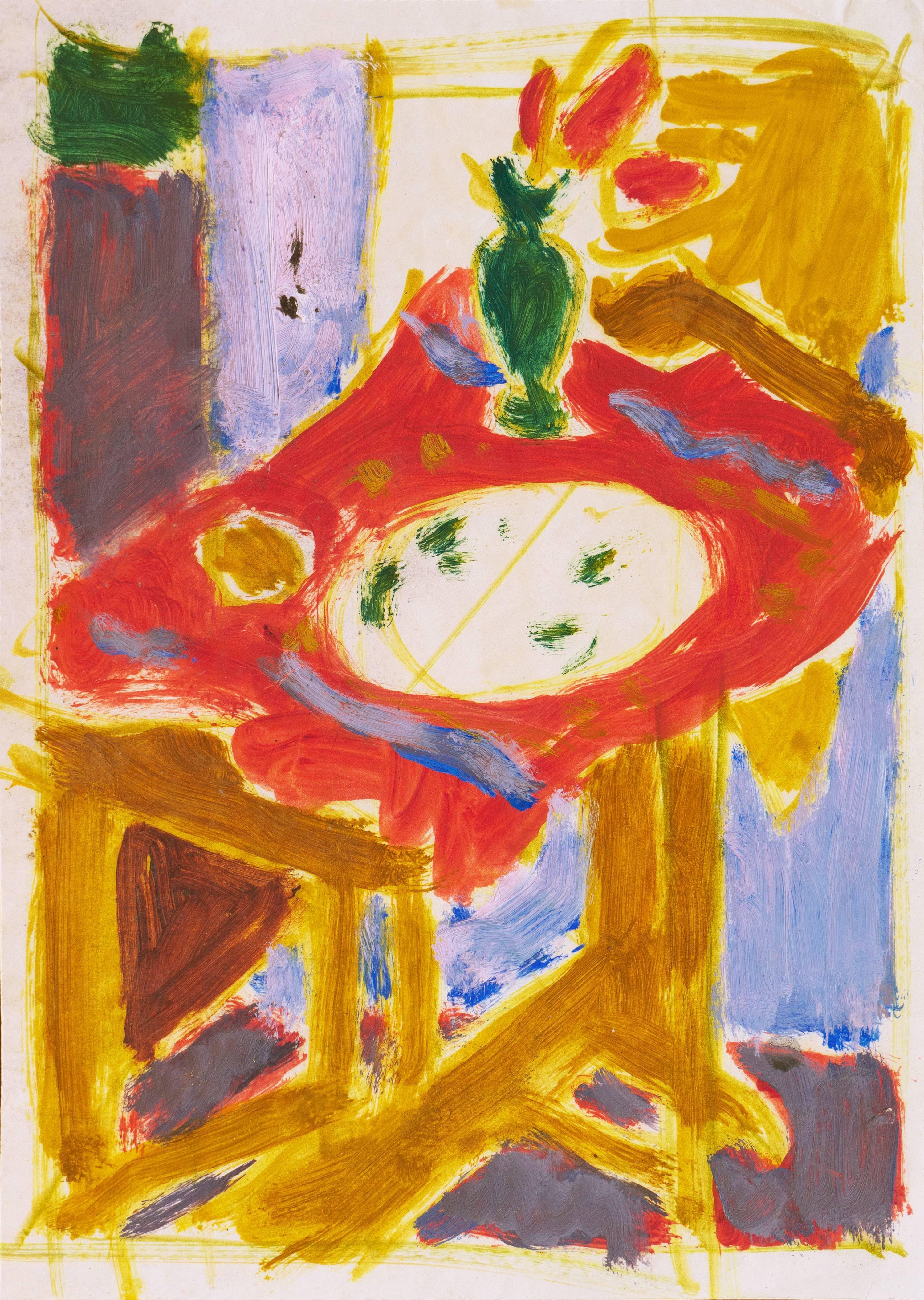California Post-Impressionist 'Still Life in Interior', Louvre, LACMA, SFAA