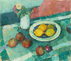 Still Life with Lemons and Apples