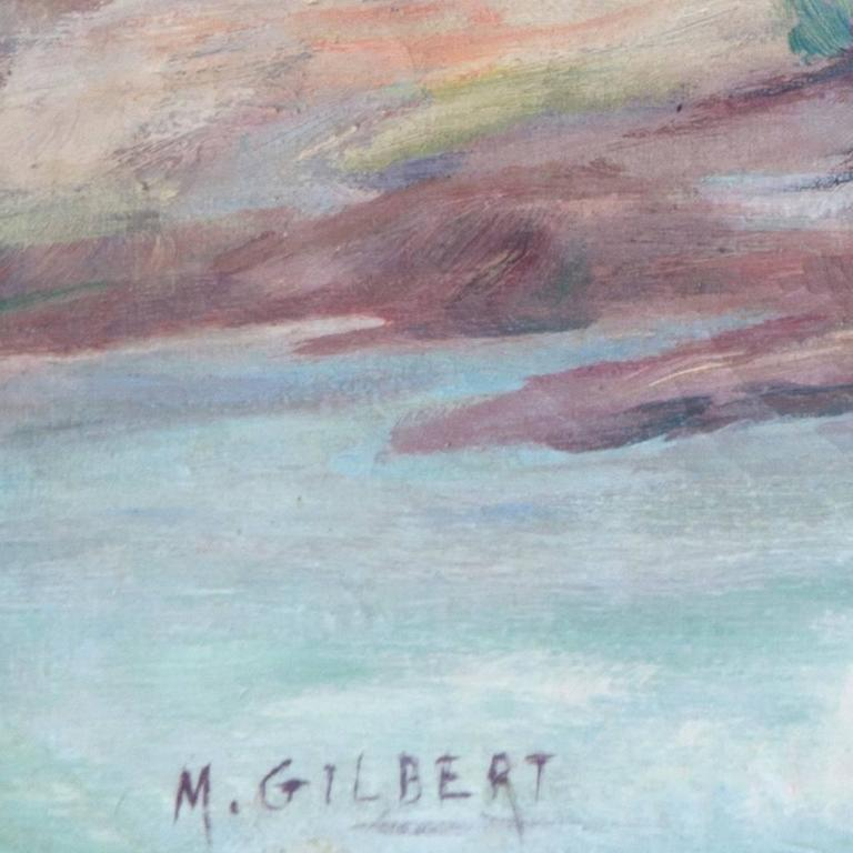 'River Landscape', American Impressionist, Carmel Art Association, Plein Air For Sale 1