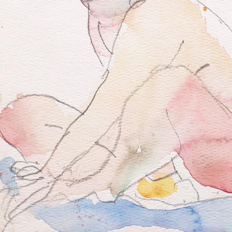 California Post-Impressionist 'Seated Nude', Louvre, LACMA, Académie Chaumière 1