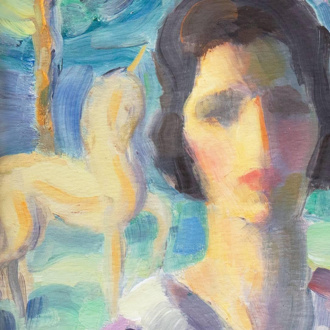 Mabel Alvarez Paintings For Sale