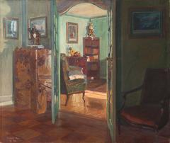 Sunlit Drawing Room