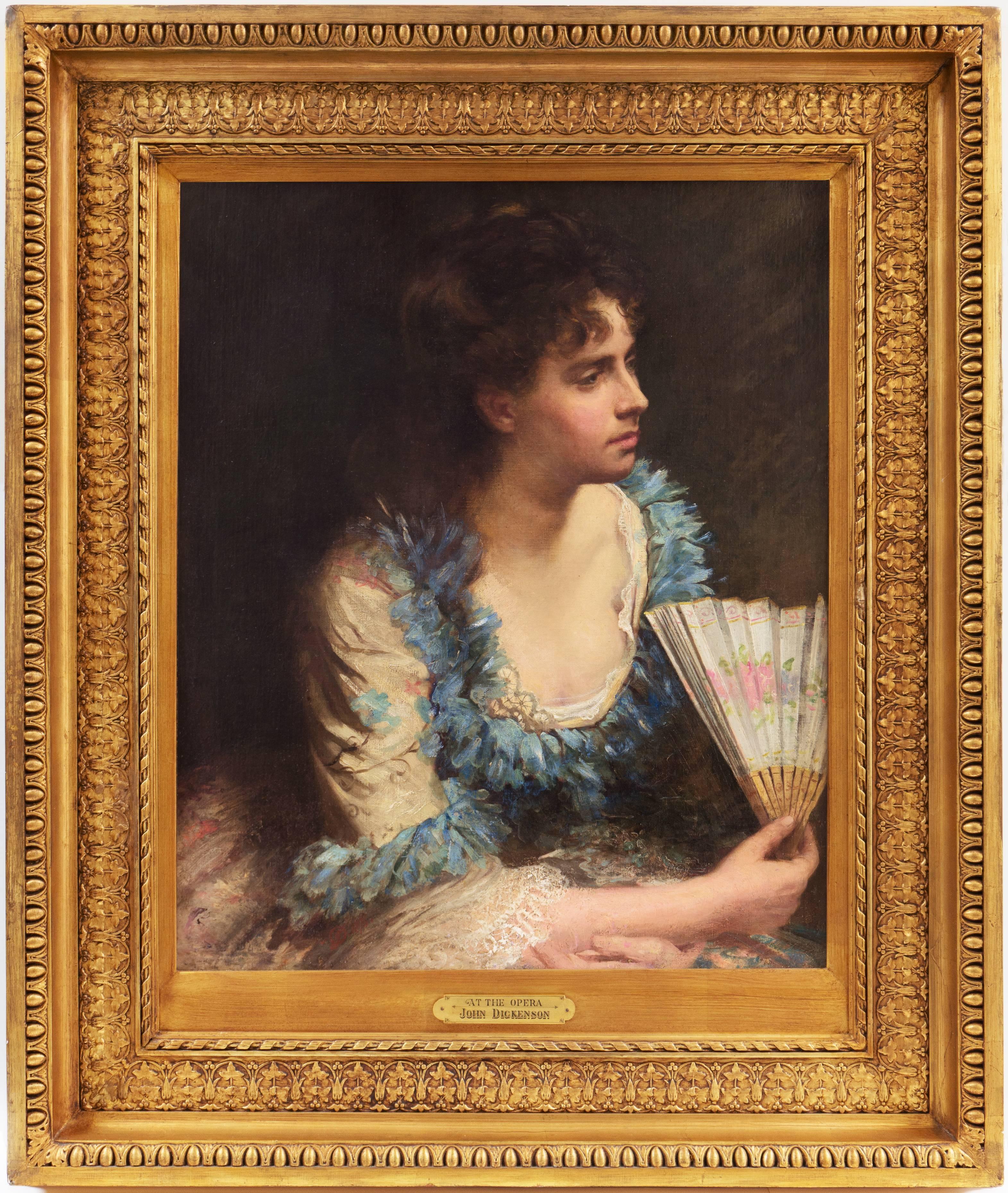 'At the Opera, New York', Beaux Arts Oil, London Royal Academy, Munich, NAD
