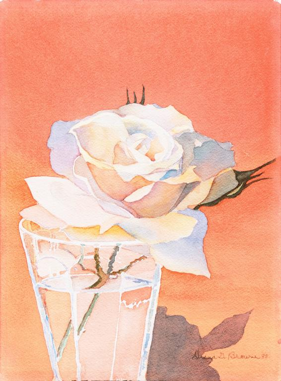Still Life with a Rose
