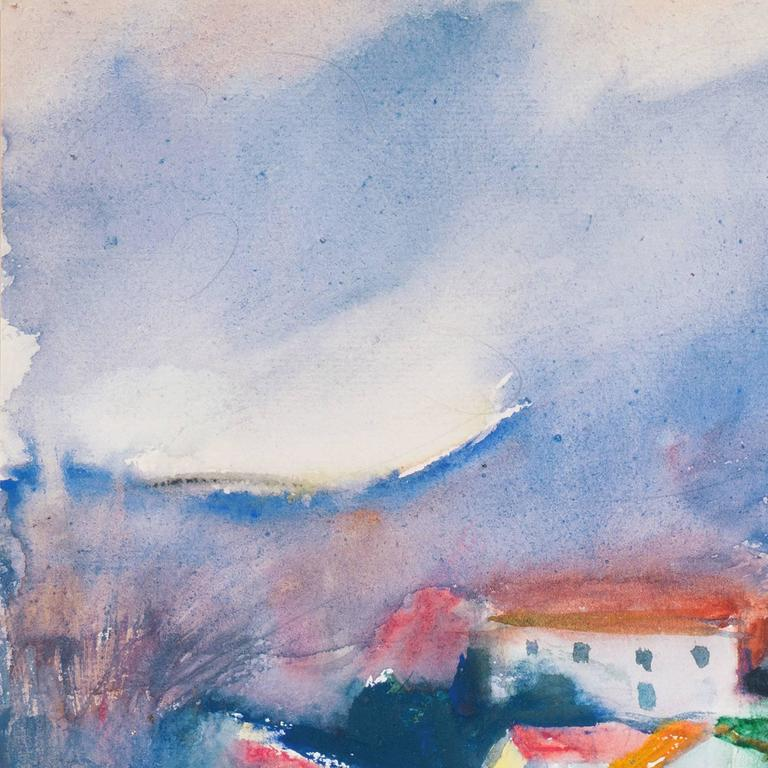 'Rain in Provence', French Post-Impressionist artist, MAM Paris For Sale 2