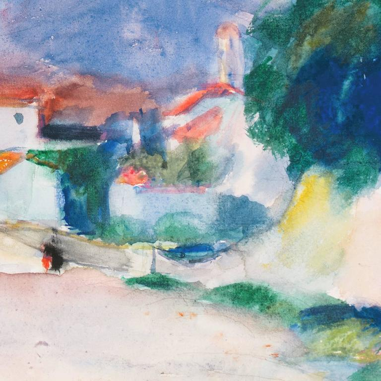 'Rain in Provence', French Post-Impressionist artist, MAM Paris For Sale 3