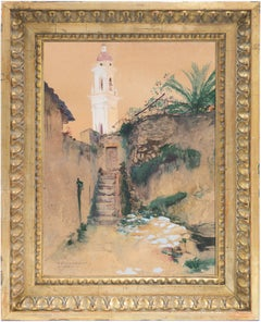 'Menton, France', École des Beaux-Arts, student of Gustave Boulanger and Gerome
