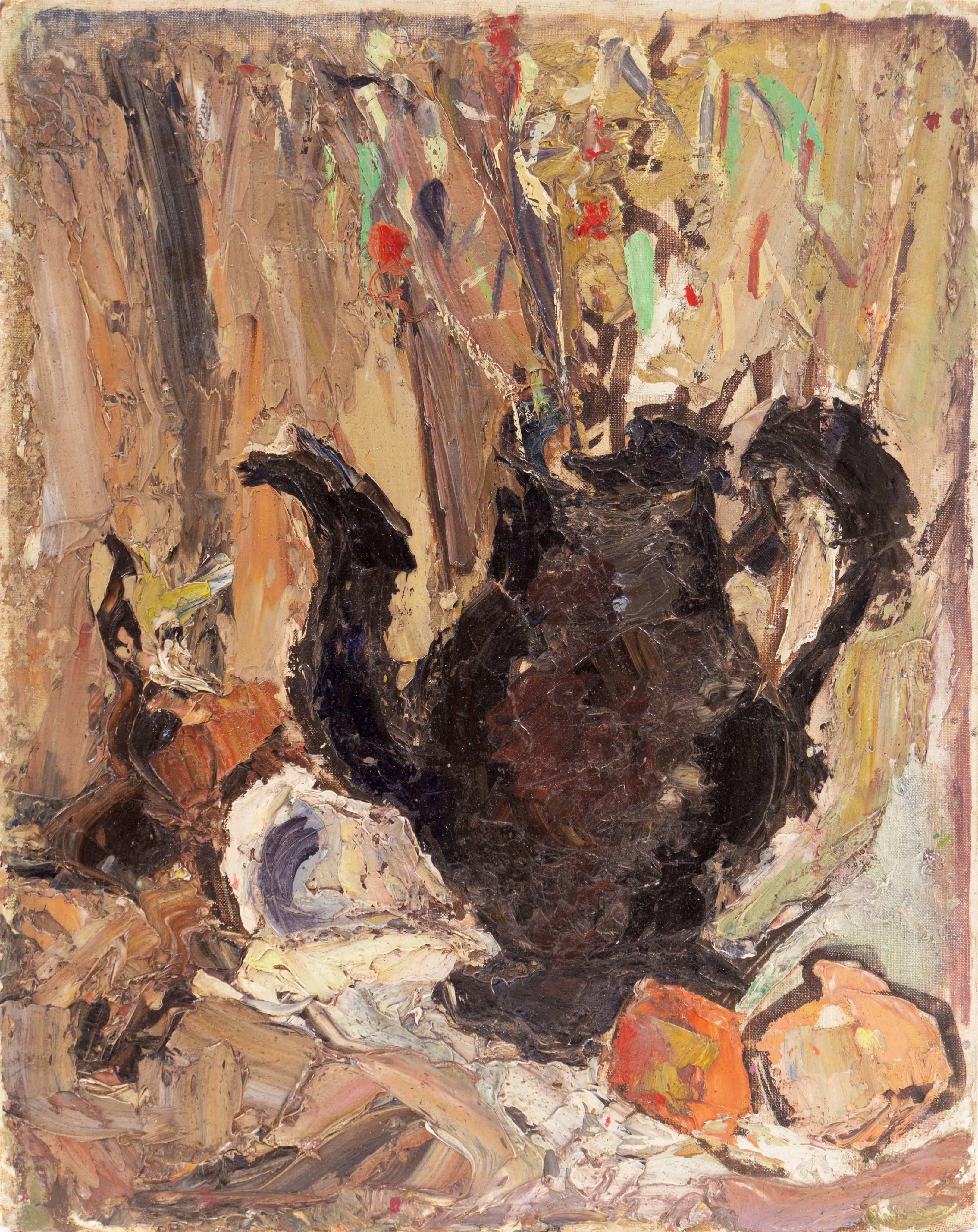 'Flowers in a Teapot', Paris, MOMA, LACMA, California Woman Post-Impressionist