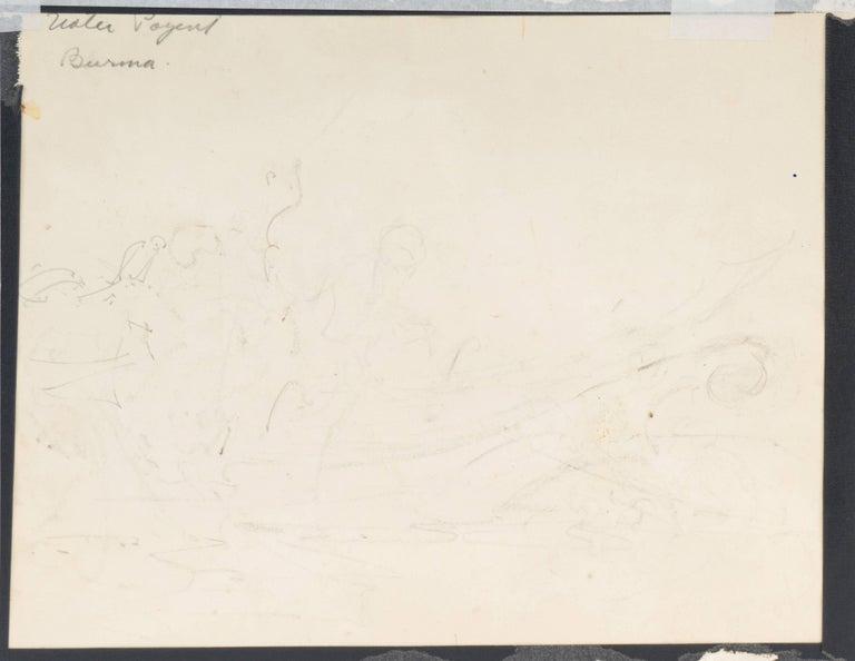 'Burmese Water Pageant', California Post-Impressionist, PAFA, AIC, Carmel For Sale 5