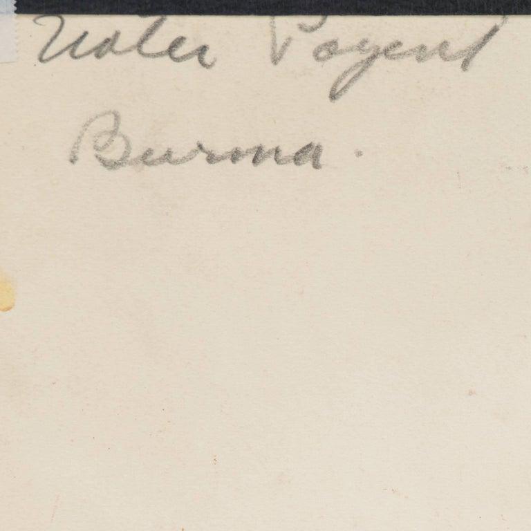 'Burmese Water Pageant', California Post-Impressionist, PAFA, AIC, Carmel For Sale 6