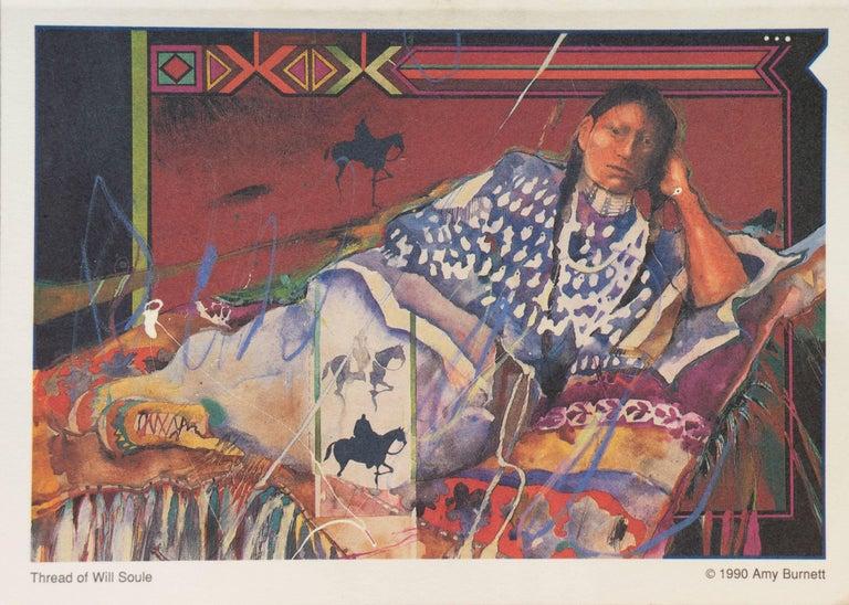 Portrait with Figures on Horseback For Sale 5