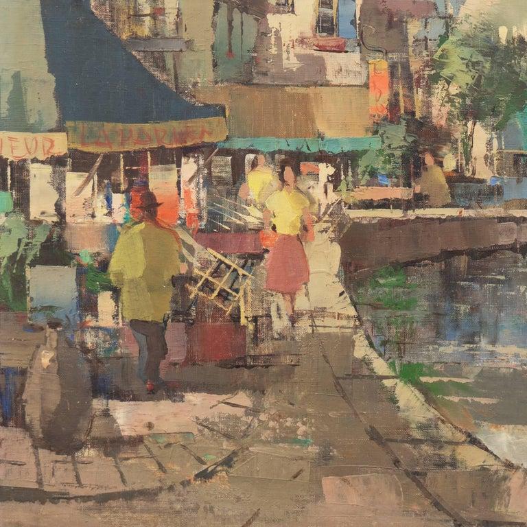 'Montmartre and Sacre Coeur', Paris Street Scene For Sale 2