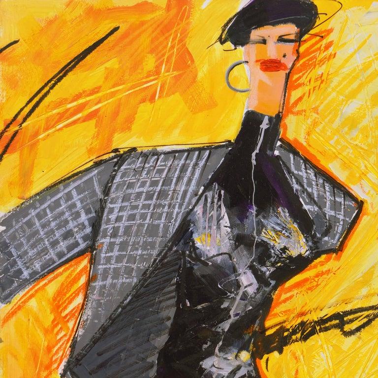 Fashion Able I  - Modern Painting by Isaac Mizrahi