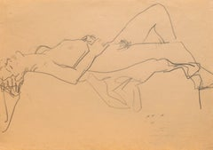 California Post-Impressionist Still Life 'Reclining Nude'; LACMA, Louvre, SFAA