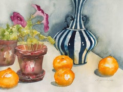 'Still Life of Fruit', Carmel, California woman artist