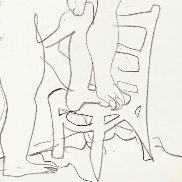 California Post-Impressionist, 'Après Le Bain', Louvre, LACMA, SFAA For Sale 3