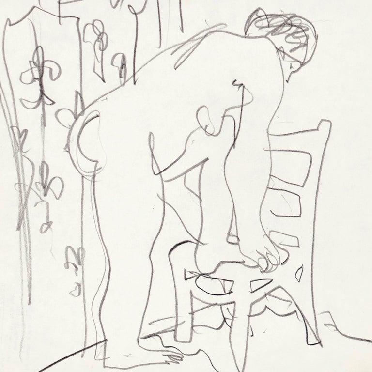 California Post-Impressionist, 'Après Le Bain', Louvre, LACMA, SFAA For Sale 1