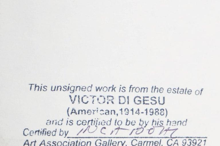 California Post-Impressionist, 'Après Le Bain', Louvre, LACMA, SFAA For Sale 5