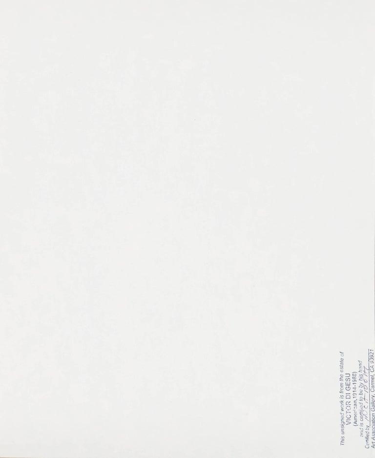California Post-Impressionist, 'Après Le Bain', Louvre, LACMA, SFAA For Sale 4