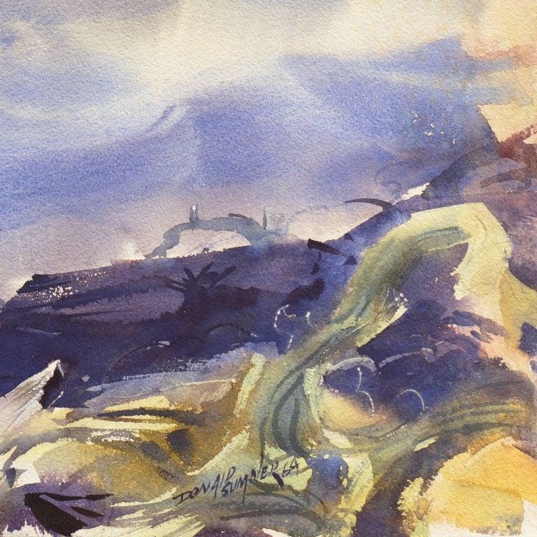 'After the Storm', Impressionist Seascape - Art by Donald Sumner