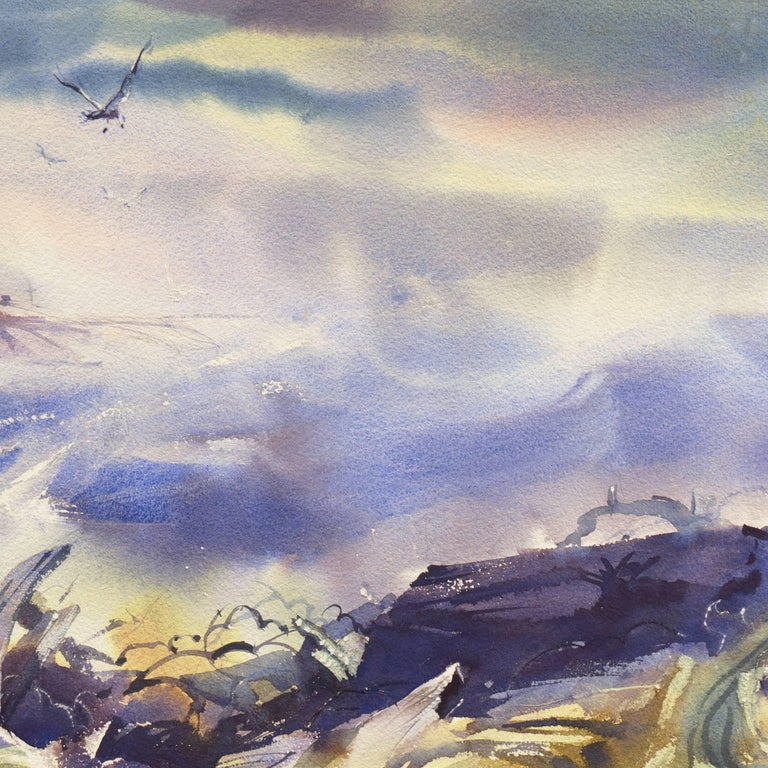'After the Storm', Impressionist Seascape For Sale 2