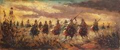 Orientalist Berber Cavalry Charge