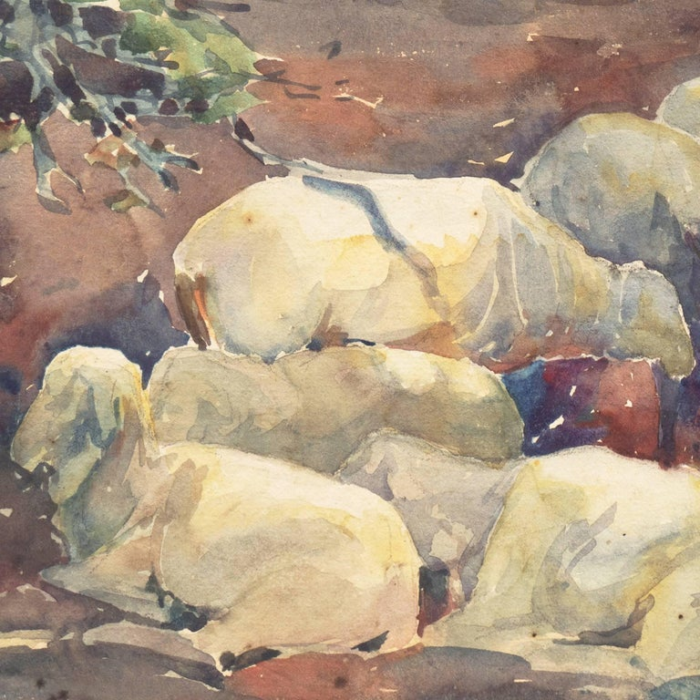 'Sheep Resting', Art Institute Chicago, Woman Artist For Sale 2