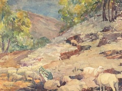 AIC, 'Landscape with Sheep Grazing'