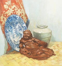Still Life with Sculpture of Liu Haichan
