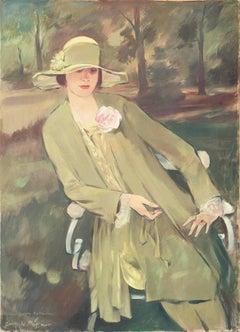 Portrait of Lieselotte Friedländer