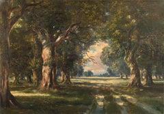 'Oak Trees Near Schwanheim', Frankfurt-am-Main