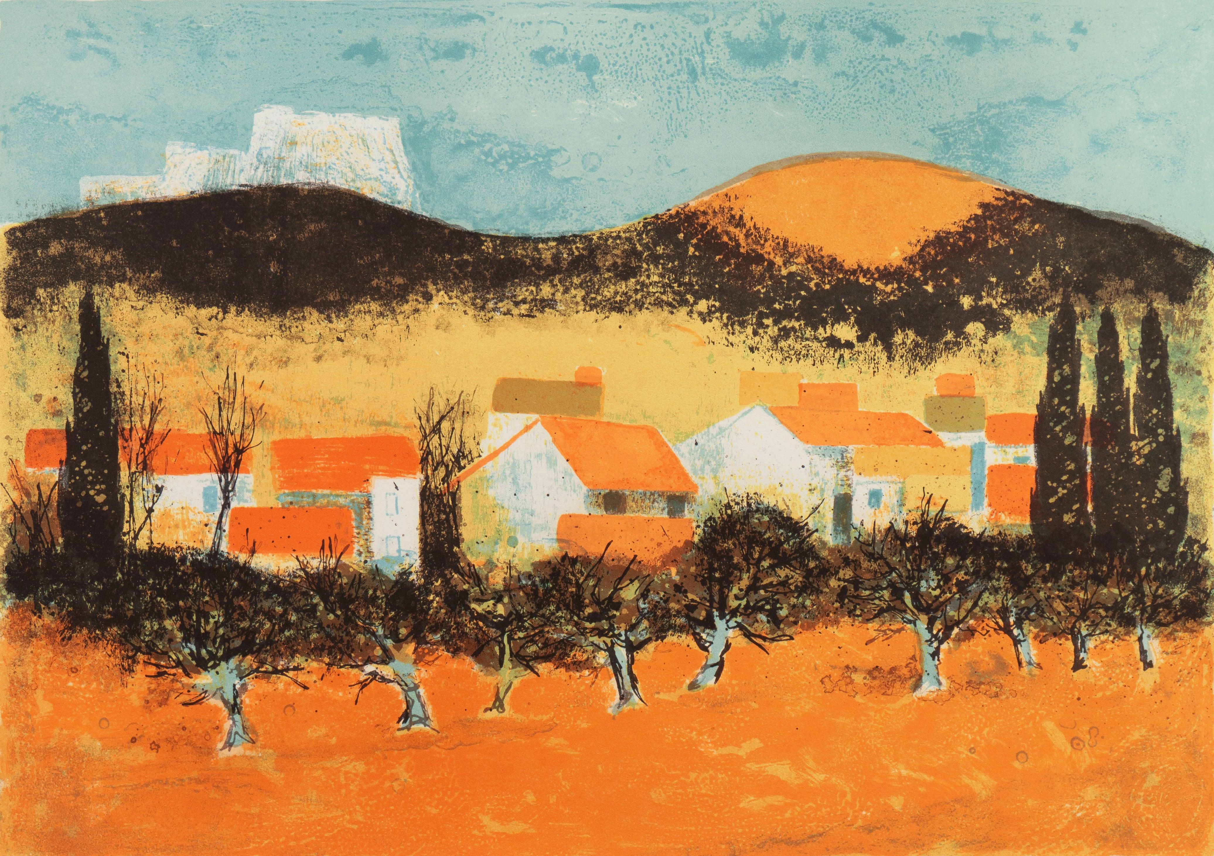 'Sunset over Provence', Paris Salon, Musée d'Art Moderne, Benezit